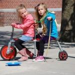 Lekker samen spelen en fietsen