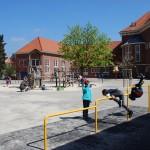 Het schoolplein